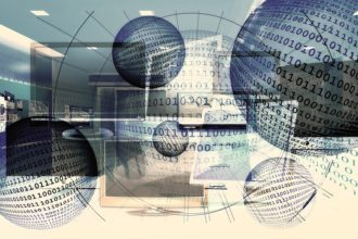 cyfry w globusie fotografia