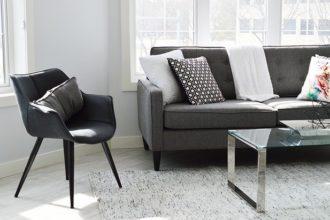 piękne wnętrze krzesła kanapa fotografia